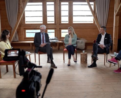 Accenture Digitalisierungs-Talk in Alpbach